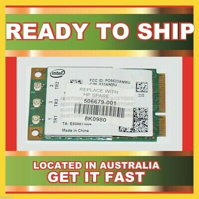 Genuine 506679-001 Hp Wifi 802.11A/b/g/draft-N Mini Pcie Card For 2530P