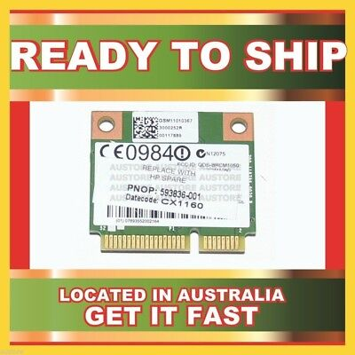 Genuine Bcm94313Hmg2Lp1 Broadcom 802.11 B/G/N Half-Mini Minicard For G72