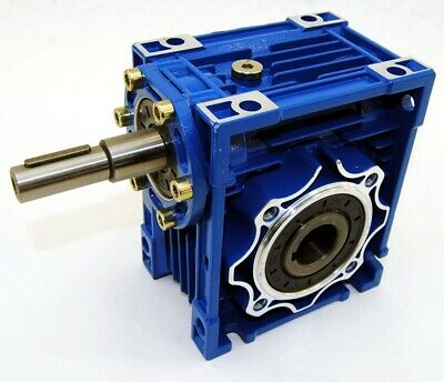 RV063 Worm Gear 50:1 Coupled Input Speed Reducer