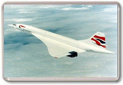 Concorde Fridge Magnet 01