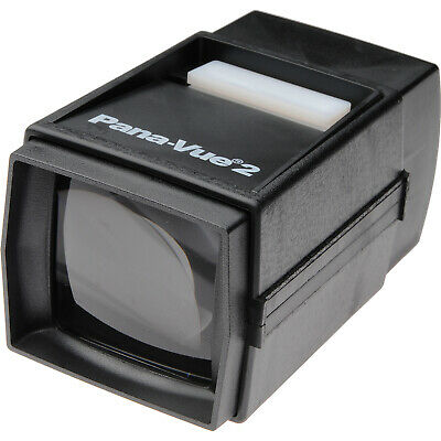 Pana-Vue 2 Lighted 35mm 2x2 Slide Film Viewer NEW