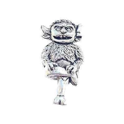 Lincoln Imp Finely Handcrafted in Solid Pewter In UK Lapel Pin Badge