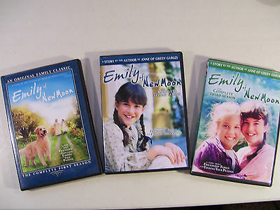 Emily Of New Moon Complete Seasons 1-3 Dvd, Family