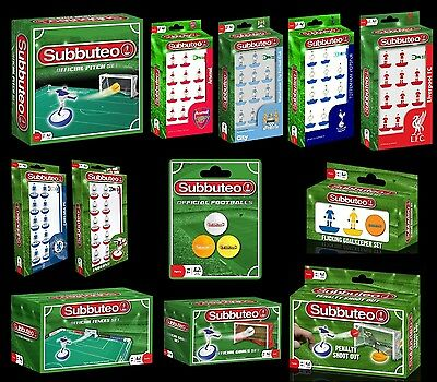 SUBBUTEO Table Football Game (BRAND NEW) Teams & Accessories {Paul Lamond Games}