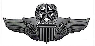 U.S Air Force Command Pilot Wings Wall Vinyl Decal Sticker Military