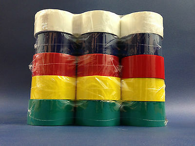 1, 6, 12, 24, 36, 72 Rolls Blue, White, Yellow, Red, Green Packing / Parcel Tape