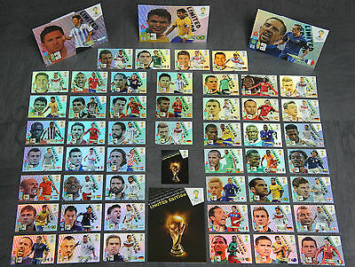 Panini Adrenalyn WM 2014 Brazil  Limited Edition aussuchen Brasilien World Cup