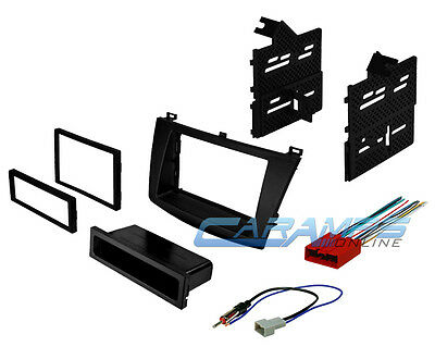 Mazda 3 Single Or Double Din Car Stereo Install Dash Kit W Harness & Antenna