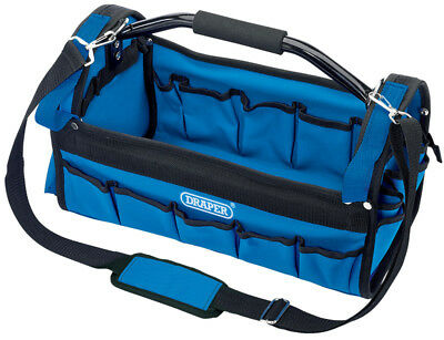 Draper 02983 Tote Tool Caddy Bag With Heavy Duty Base Carry Case Holdall