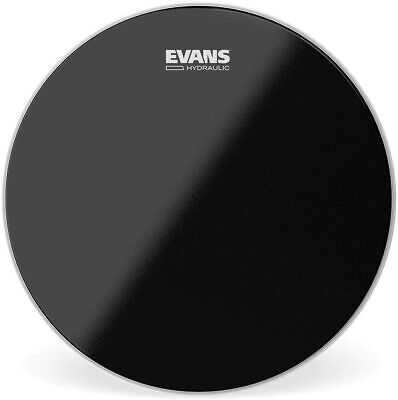 "Evans 14"" Hydraulic Black Coated Snare Drum Head B14HBG"