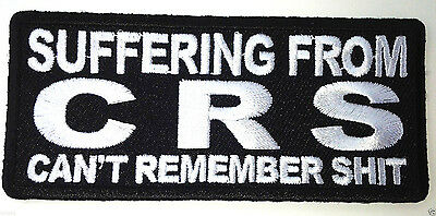 ***SUFFERING FROM CRS CAN'T REMEMBER SHIT***Biker Patch P1418 E