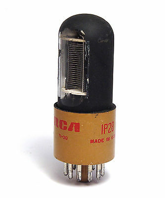 RCA 1P28 Photomultiplier Tube / 9-stufiger Fotovervielfacher für UV Licht