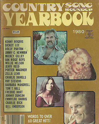 Dolly Parton Kenny Rogers Cover Country Song Roundup Magazine 1980 Yearbook