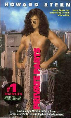 Private Parts by Howard Stern (English) Paperback Book Free Shipping!
