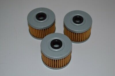 1983-1984 Kawasaki KLT200C EMGO 10-30000 Oil Filter 3 Pack