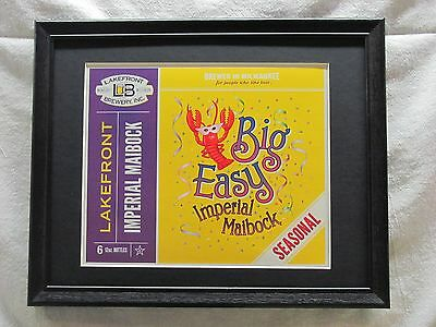 Lakefront Big Easy Imperial Maibock  Beer Sign  #916
