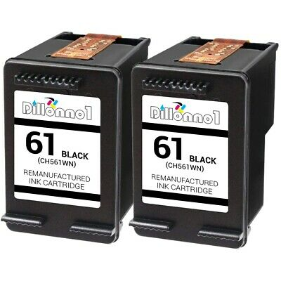 2PK #61XL (CH563W) Black Ink Cartridges For HP ENVY 4500 5530 Printer Series