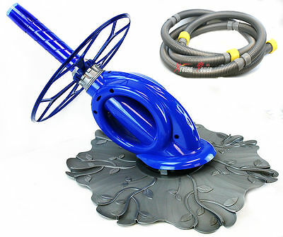 G4 Turbo Automatic Swimming Pool Cleaner Vacuum Hose Above In Ground w hose