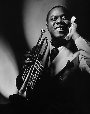 Louis Armstrong 8X10 Glossy Photo Picture Image #2