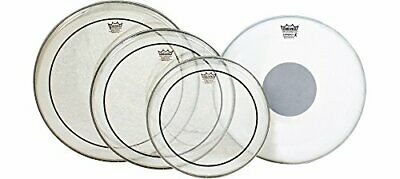 Remo Pinstripe Rock Tom Drum Head Value Pack w/Emperor X Snare Head PP-0680-PS