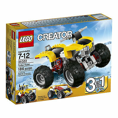 31022 LEGO CREATOR Mod.TURBO QUAD/TURBO QUAD