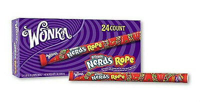 Wonka Nerds Rope - 24 ct. Gummy Candy Covered in Nerds candy