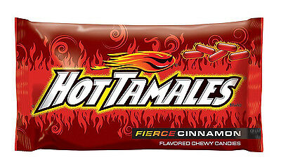 Hot Tamales Cinnamon Flavored Bulk Vending Candy 4.5 Pounds Fat Free