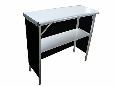 Magician's Portable High Top Performance Table - Pops Up - Carry Case Included