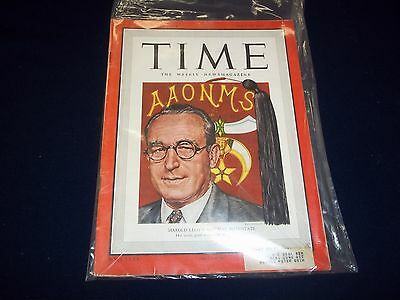 1949 JULY 25 TIME MAGAZINE - HAROLD LLOYD - GREAT FRONT COVER - D 1861