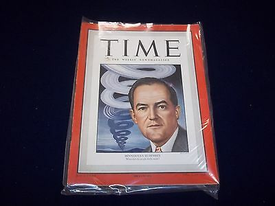 1949 JANUARY 17 TIME MAGAZINE - MINNESOTA'S HUMPHREY- GREAT FRONT COVER - D 1885