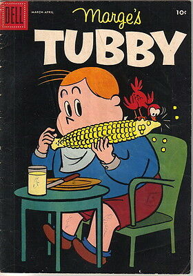 Marge's Tubby Comic Book #27, Little Lulu Dell Comics 1958 VERY GOOD