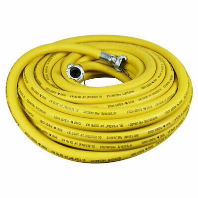 "Jack Hammer Yellow Rubber Hose 3/4"" x 100 feet 300 PSI - HJ59-100E"