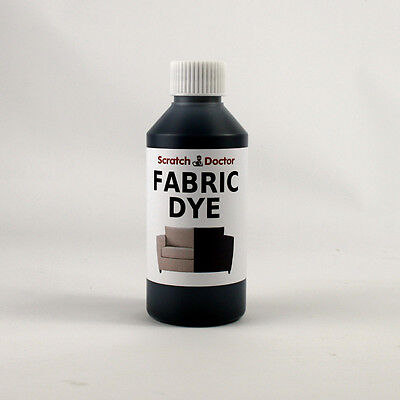 BLACK Fabric Dye for Sofa, Clothes, Denim, & more. Repairs & Re-Colours