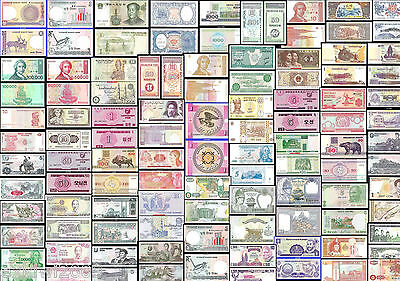 WORLD BANKNOTES * ALL MINT UNC * ALL JUST 99p EACH  *OUR  2ND  MULTI LISTING*