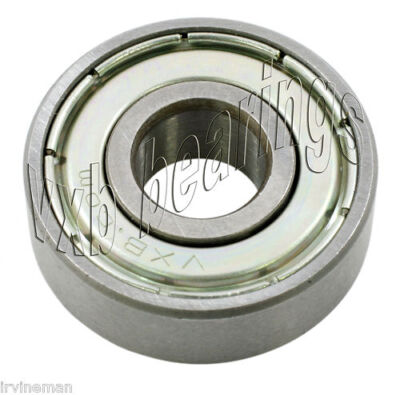 MR608-ZZ Radial Ball Bearing Double Shielded Bore Dia. 8mm OD 22mm Width 7mm