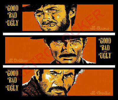 Classic Retro High Quality The Good The Bad And The Ugly  Mousemat Pad