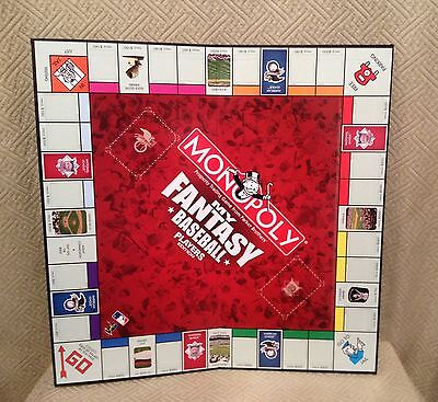 Monopoly My Fantasy Baseball Players Edition Game Board Only