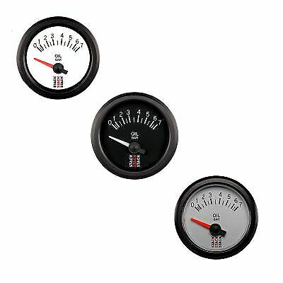 Stack Electrical Oil Pressure Gauge -Black Dial Face - 0-7 Bar-Motorsport/Rally