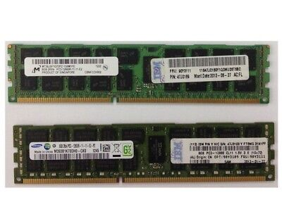 IBM 8GB (1x8GB) 2Rx4 PC3-12800R-11-11-E2 REG ECC Server Memory 47J0169 90Y3111