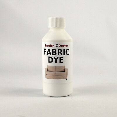 WHITE Fabric Dye for Sofa, Clothes, Denim, & more. Repairs & Re-Colours