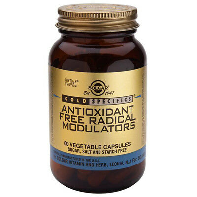 Solgar Gold Specifics Antioxidant Free Radical Modulators 60 Vegicaps