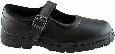 Grosby Ladies/womens Size Leather Shoes/school Shoes/work/mary Jane Style