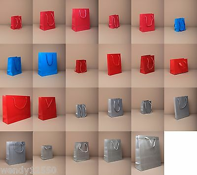 Plain Gift Bags : Choose Colour, Size & Quantity, Cheapest On Ebay  : Wholesale