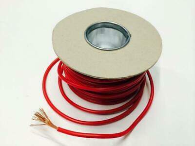 5M Red Single Core Cable 35 Amp Rewire Electrical Component / 12V Relays