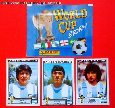 Panini Wc Argentina 78 - 3 Extrastickers Argentina 1978 - Mint
