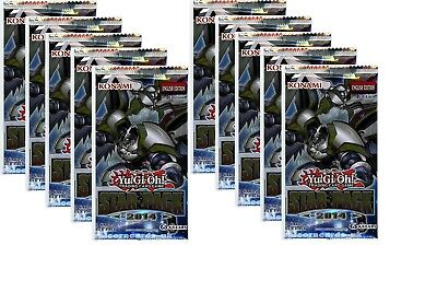 YuGiOh! Star Pack 2014 New and Sealed YuGiOh Booster Packs x10