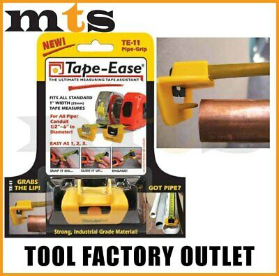 Tape Ease Pipe Grip Te-11 For Plumbing/gas Fitters - New Invention To Suit 5M Or