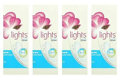 TENA Lights Panty liners long 20 x 4
