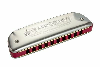 Harmonica diatonique Hohner Golden Melody neuf Do - C accordage tempérament égal