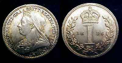GREAT BRITAIN 1896 Maundy Penny  Ch PL ***